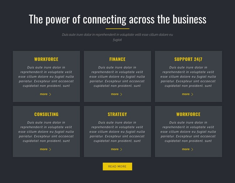 Power of Business Html Code Example