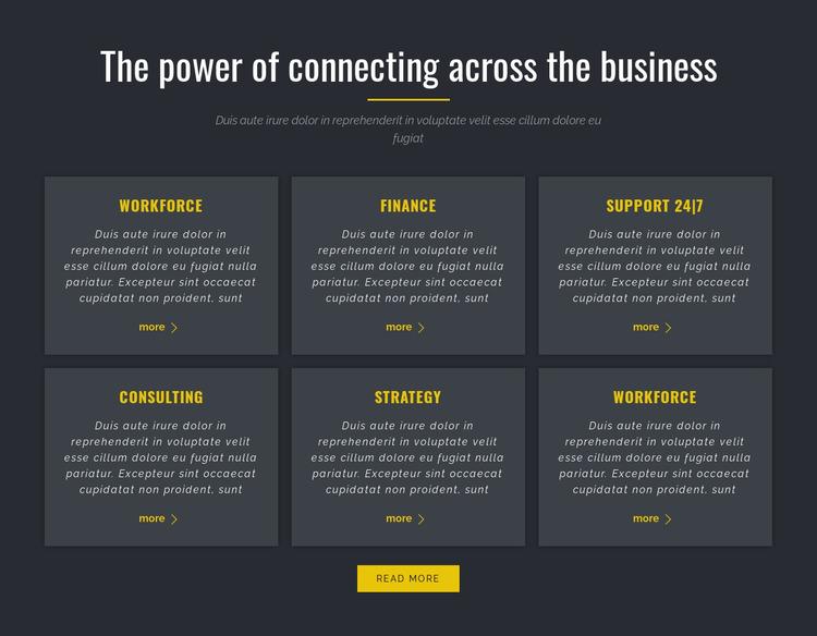 Power of Business Html Website Builder