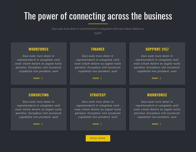 Power of Business HTML5 Template