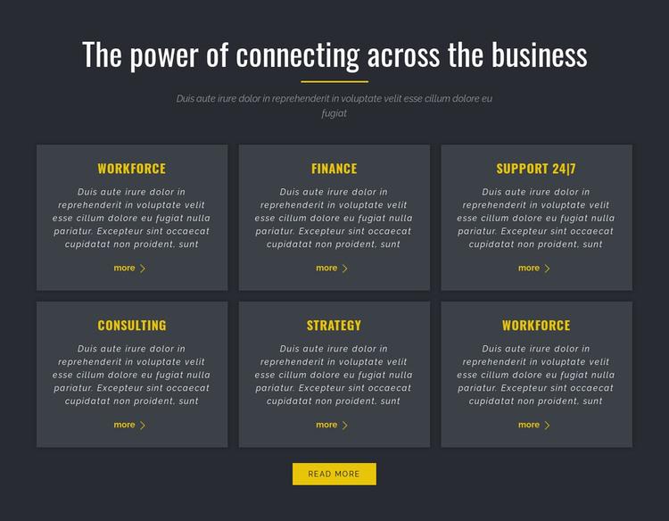 Power of Business WordPress Theme
