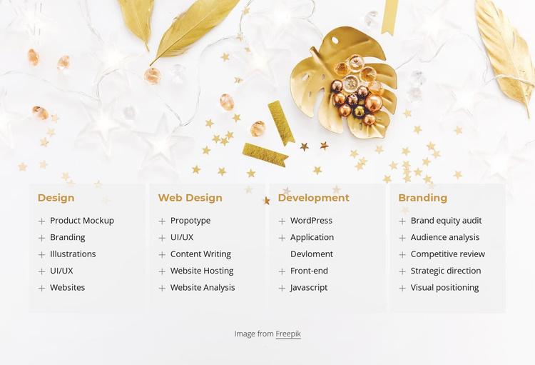 We make digital products Website Template