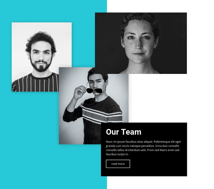 We champion the bold to achieve the results HTML Template