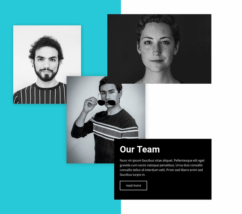We champion the bold to achieve the results Web Page Designer