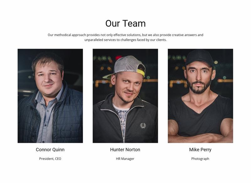 Barber shop group Web Page Designer