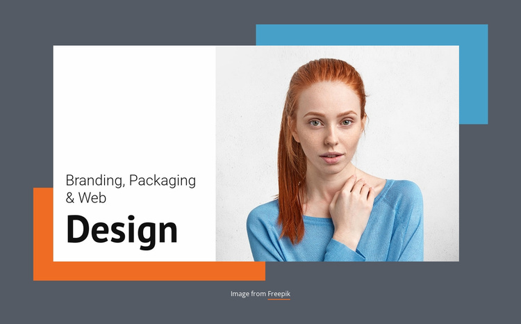 Meet the branding studio Landing Page