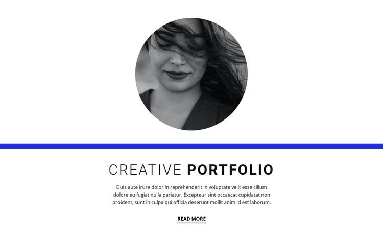 Creative portfolio Static Site Generator