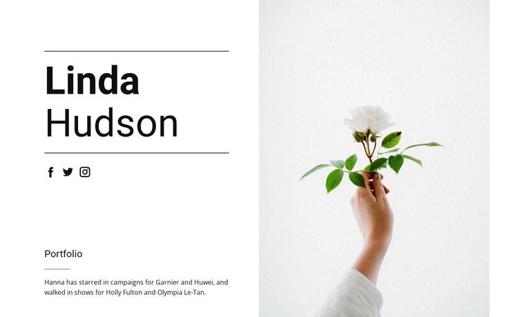 About Linda Hudson Website Builder Software
