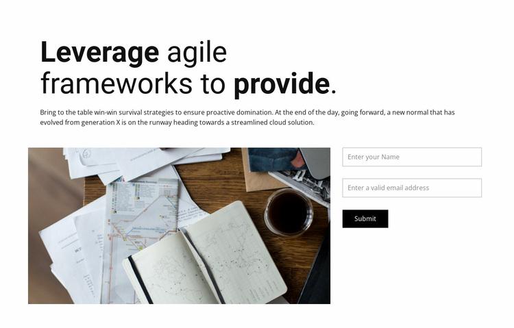Time management Website Design