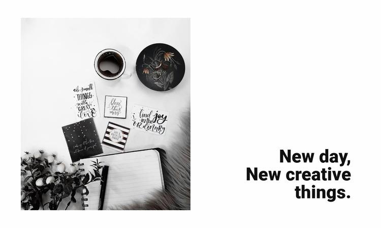 New creative things WordPress Website Builder