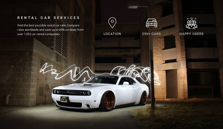 Full service and diagnostics CSS Template