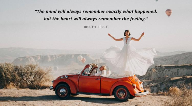 Wedding agency HTML Template