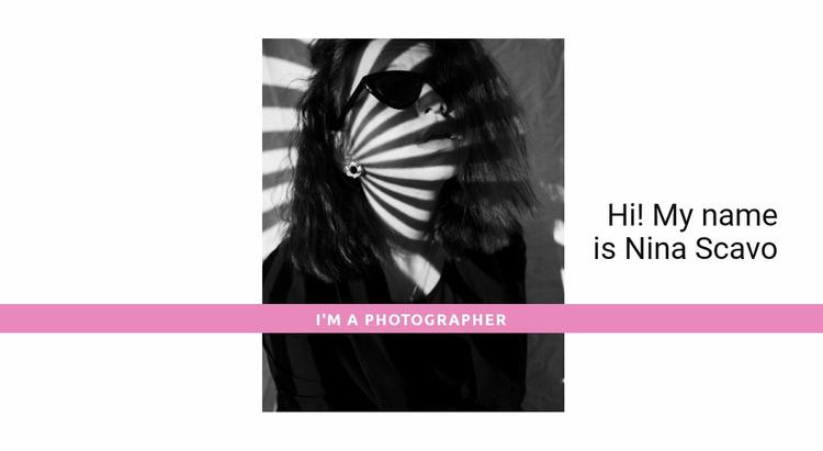 The top photographer  WordPress Website Builder