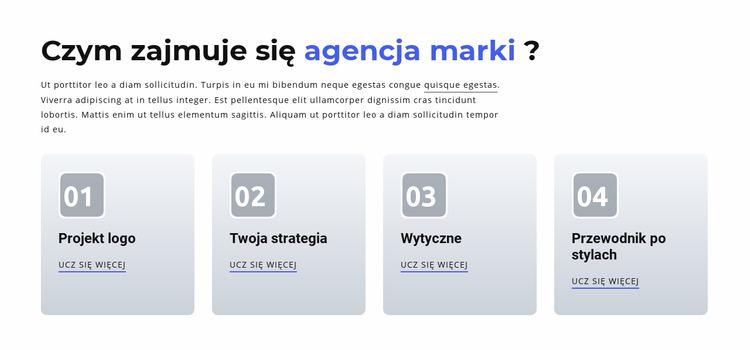 Branding i agencja cyfrowa Szablon Joomla