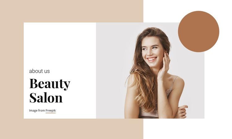 Hair and Beauty Salon Html Code