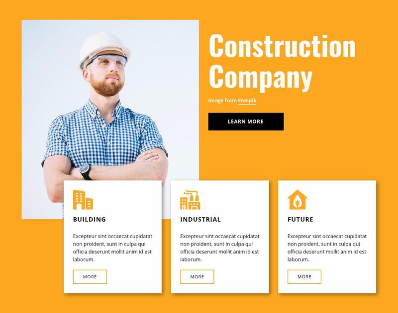Engineering experts Web Page Designer