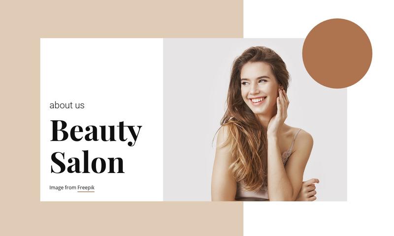 Hair and Beauty Salon Website Creator