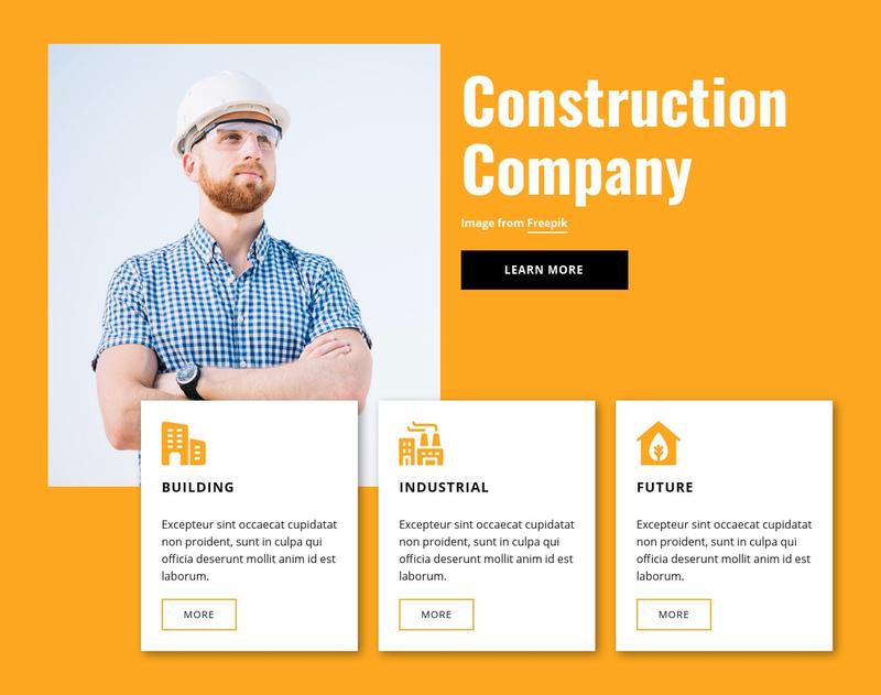 Engineering experts Website Creator
