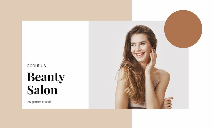 Hair and Beauty Salon Website Template