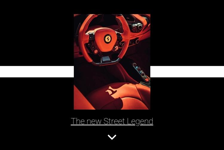 New street legend  Html Code Example