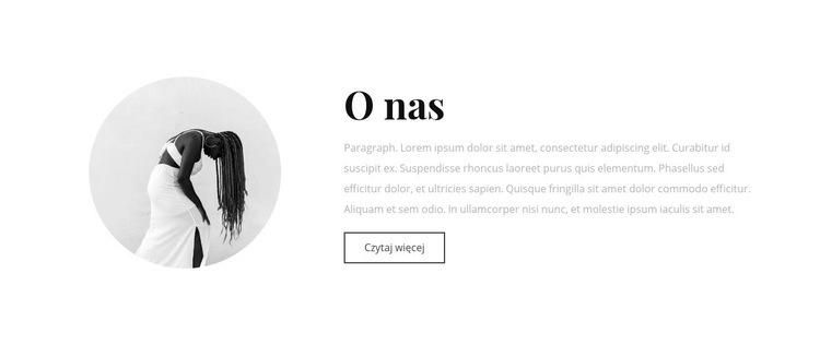 O naszej pracowni artystycznej Szablon witryny sieci Web