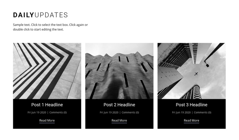Architecture daily news  Website Creator