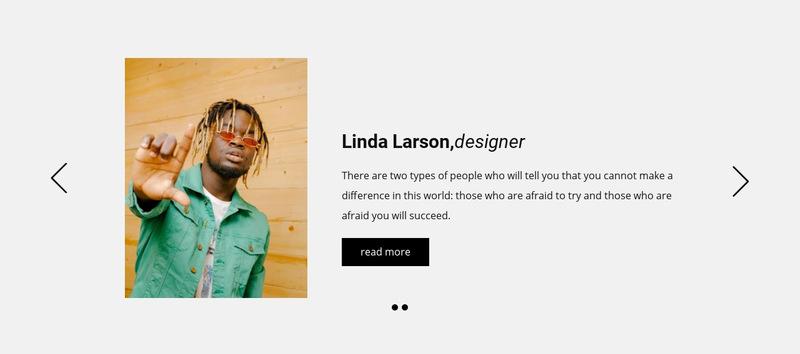 Positive customer feedbacks Web Page Designer