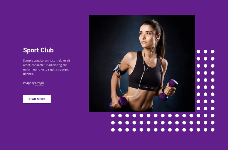 Sports, hobbies and activities Template