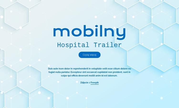 Usługi szpitalne Mobite Szablon Joomla