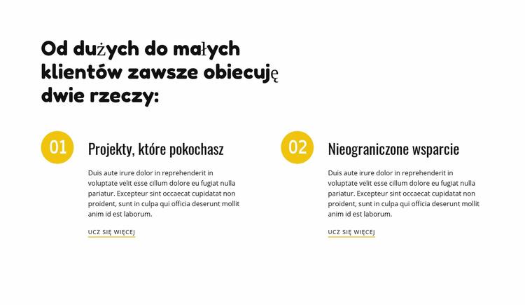 Agencja Creative Design Szablon Joomla