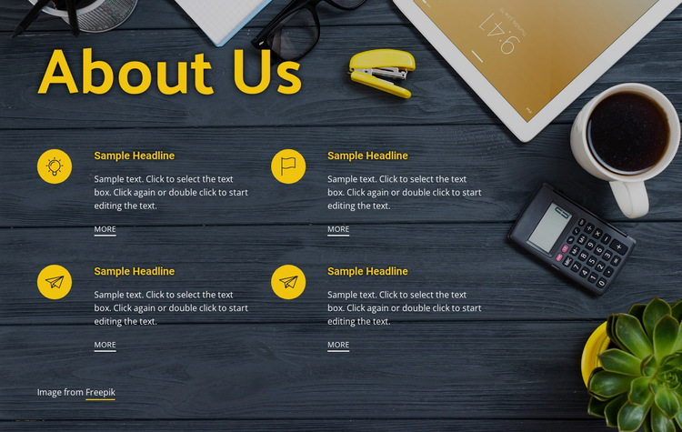 Consulting for effective business HTML5 Template