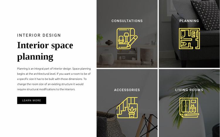 Interior planning Website Builder