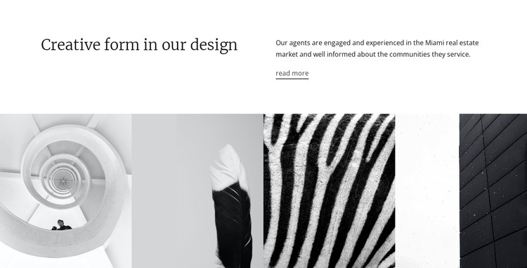 Design textures and shapes CSS Template