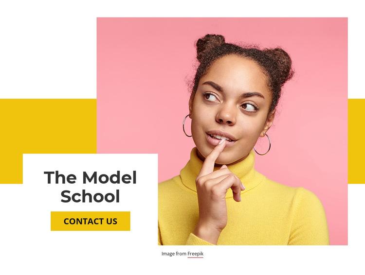 The Model School HTML5 Template