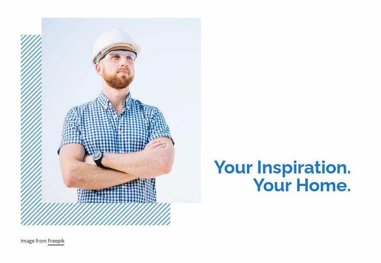 Home extension ideas Website Template