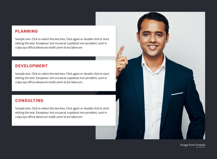 IT Strategy and planning HTML5 Template