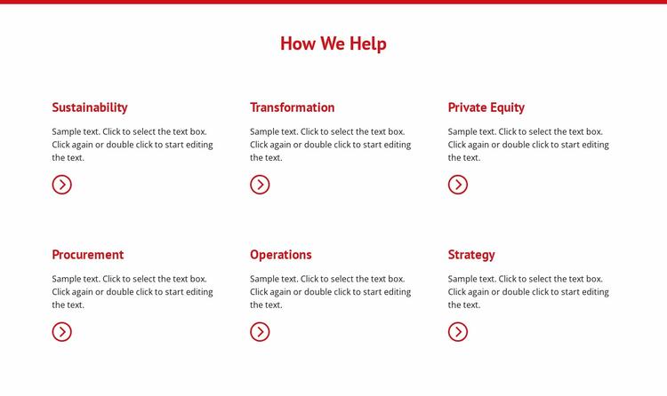 Creating an effective sales Website Template