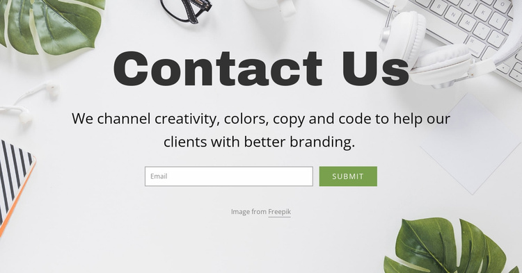 Email consultancy solutions Website Template