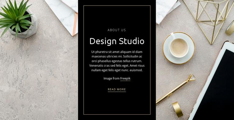 Apps, wearables, websites Website Template
