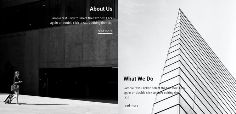 About building constructions Website Template