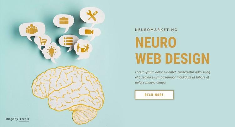 Neuro Web Design Website Builder Software