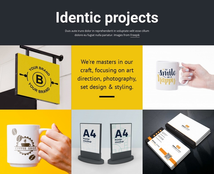Design project art Html Code Example