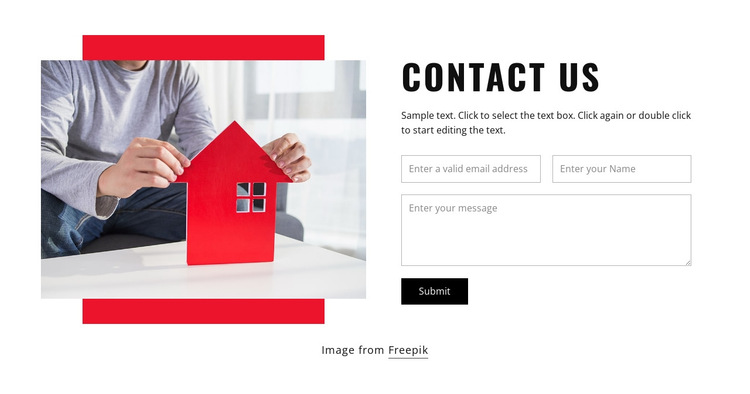 Contact our architects HTML5 Template