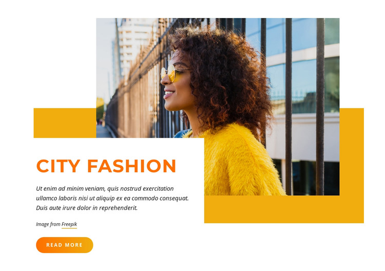 Best outfits fashion Homepage Design