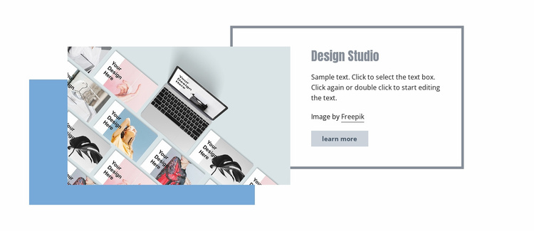 Effective search campaigns Website Template