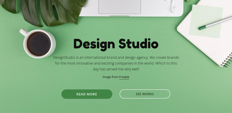 Your brand deserves better creative Html Website Builder