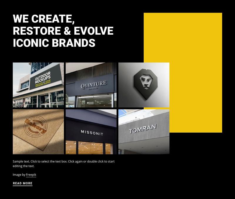 Evolving iconic art Web Page Design