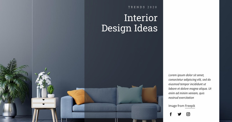 Decorate walls with paintings Html Website Builder