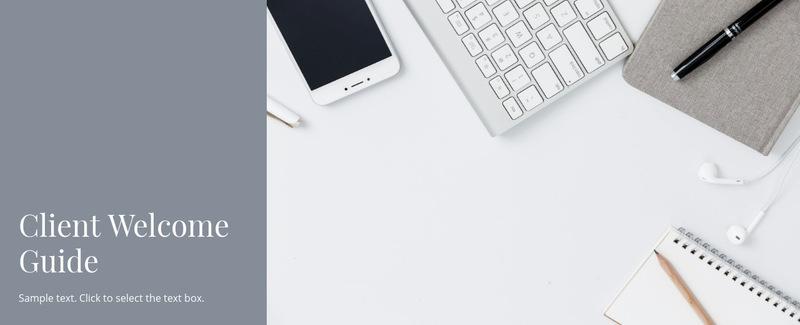Client business guide Web Page Designer
