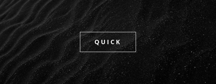 Quick business agency Website Design