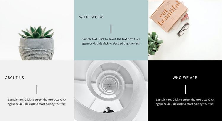 Beauty interior ideas Website Mockup